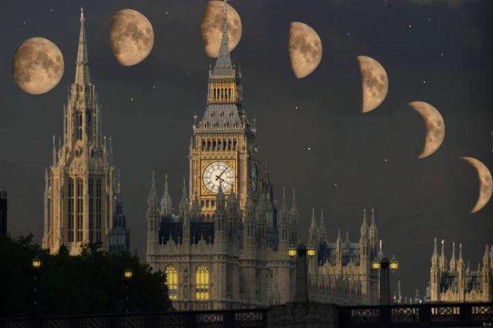 Big Ben Moonrise