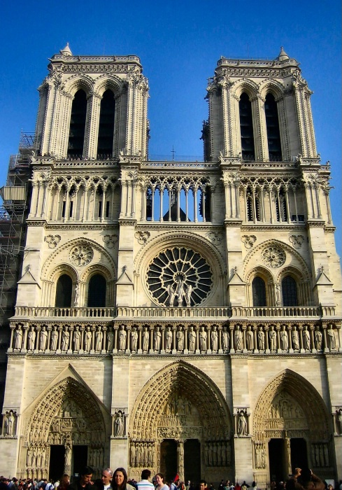 Notre Dame In the Afternoon