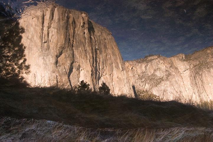 El Capitan as seen by the Merced River