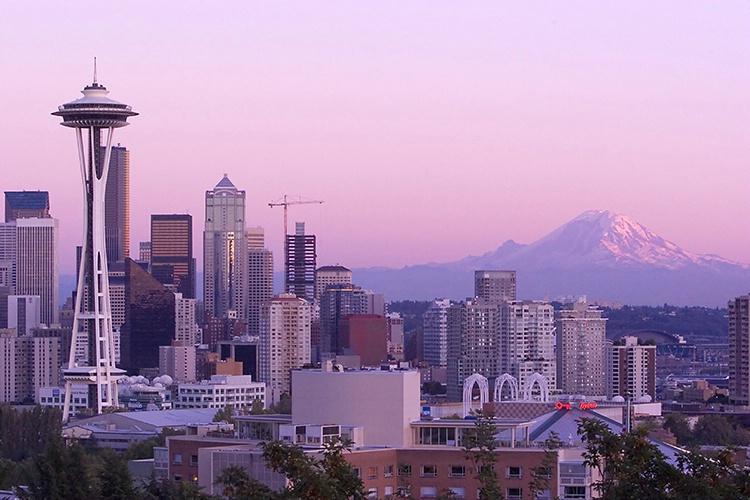 Space Needle #5/Mount Rainier #2