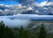 Thru fog & clouds...