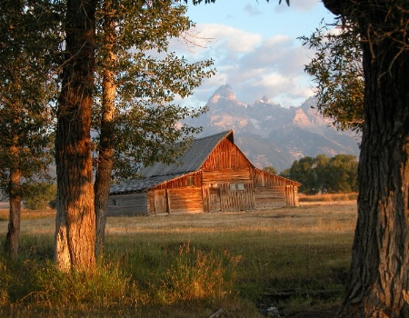 Moran Barn, Wyoming