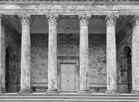 Pantheon, Stourhead (NT), Wiltshire, UK.