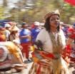 Marching sangoma