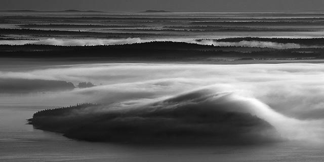 Frenchman's Bay Mist