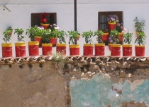 Ronda flower pots