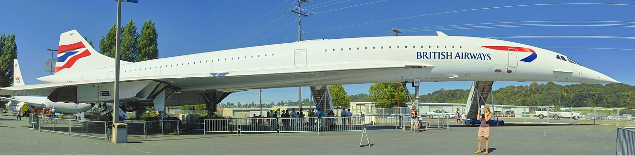 <strong>Clipped Wings - Concorde Panorama</strong>