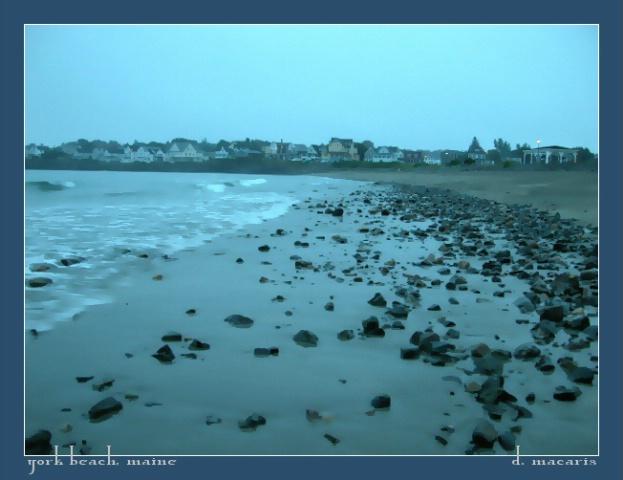 Rainy Morning at Short Sands
