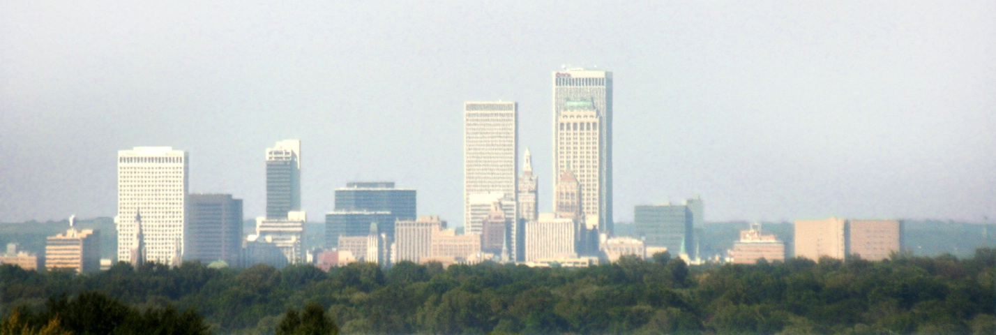 Cityscape of Tulsa Oklahoma