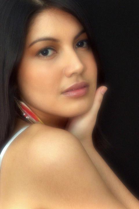 Profile portrait of Maria