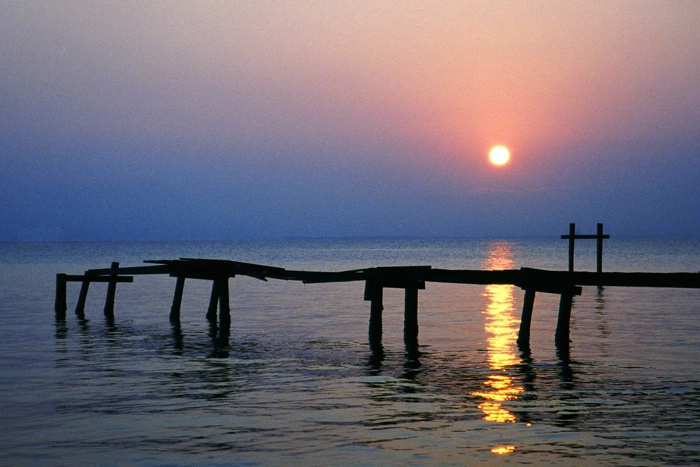 Old Dock at Sunrise