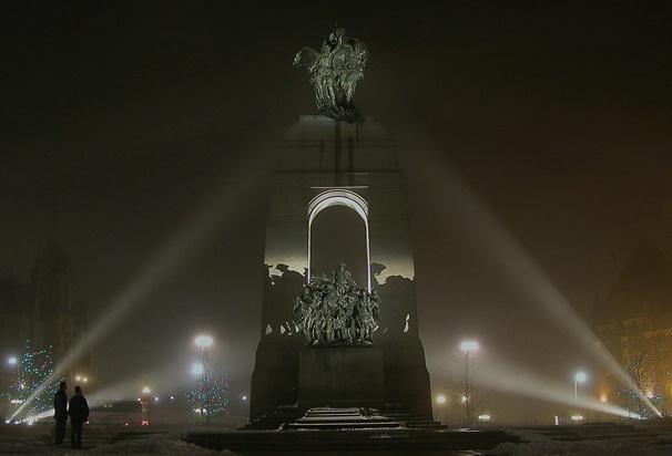 War Memorial monument Ottawa