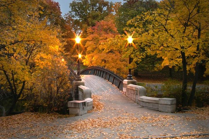 The Walking Bridge At Dusk