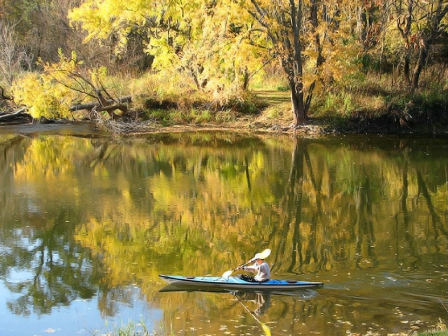 Kayaking the Kishwaukee  1