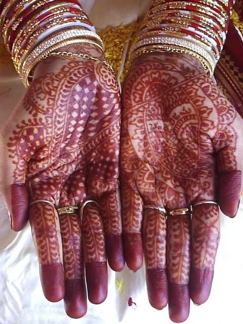 Energy Of Bridal Hands..