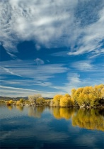 Shades of Blue - Willow Lake