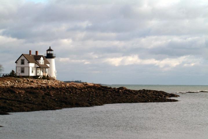 Prospect Harbor Point  Light