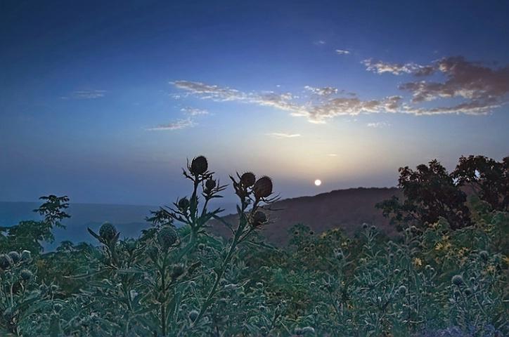 Sunrise on Mt. Magazine