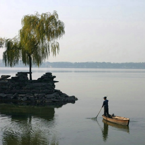 Morning Fishing at the Summer Palace - ID: 1496743 © Jacqueline Stoken