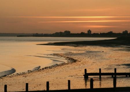 Hayling Sunset UK