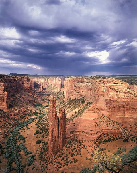 Spider rock - ID: 1575030 © Brian d. Reed