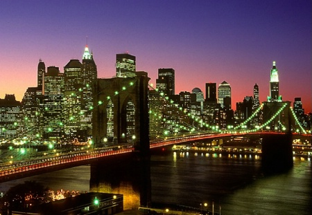 Brooklyn Bridge NO Twin Towers