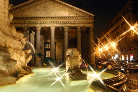 IT0035 The Pantheon - Rome, Italy