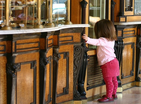 Little Girl in a Cakeshop