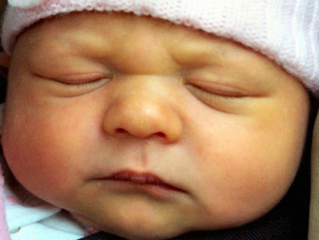 Naples- Olivia three days old
