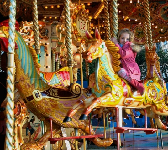 London- Carousel Ride