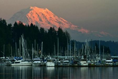 Gig Harbor View of Mt. Rainier