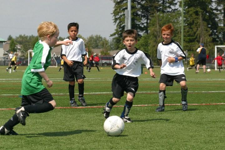 Duncan at Spring Soccer
