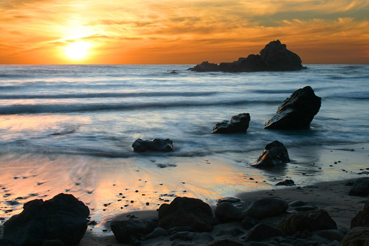 Pfeiffer Beach Sunset