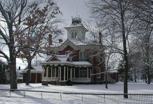 Cook-Rutledge Mansion -Wi