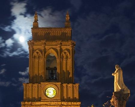 Moonlight Over San Miguel