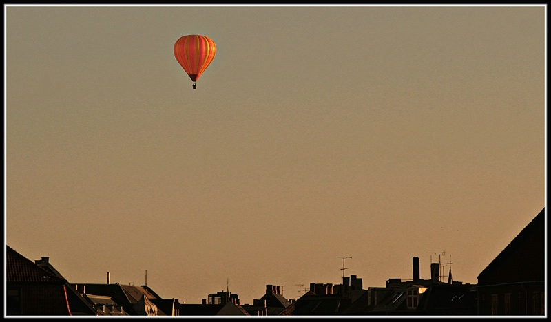 Balloon Over copenhagen