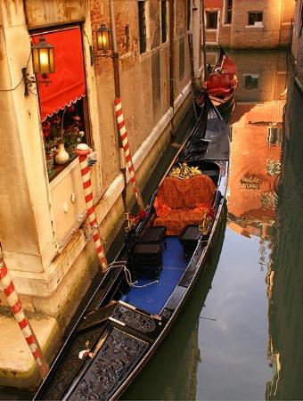 Gondola and Reflections