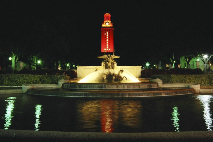UT Tower & Fountain