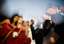 flash/blur group portrait