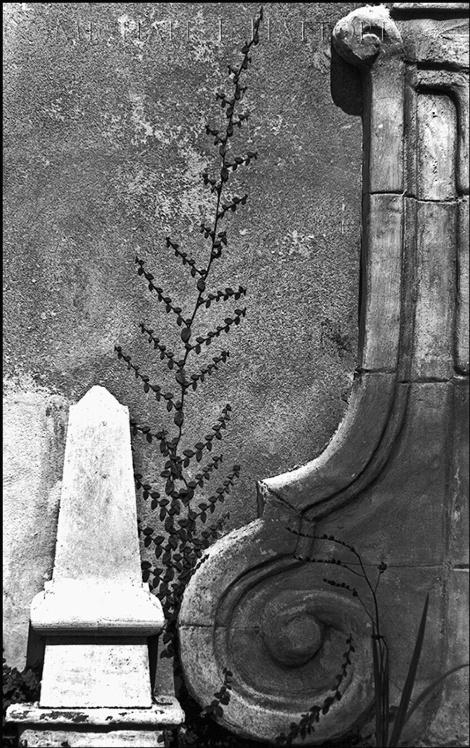 Obelisk and Scroll