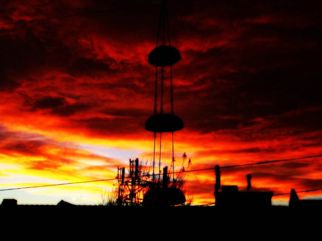 City of Zen Sunset