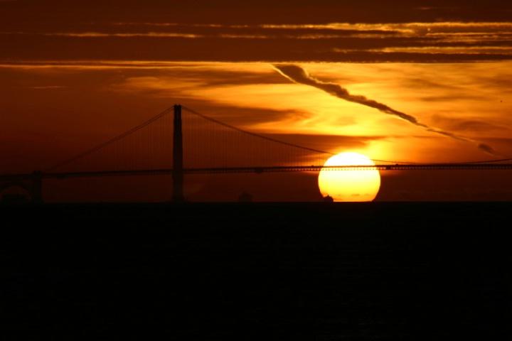 Sunset with Golden Gate Bridge