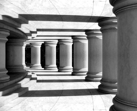 Jefferson Memorial Abstract