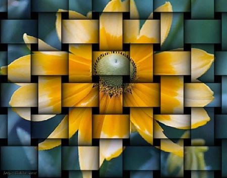 Woven flower