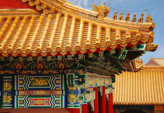 Forbidden City Roofline
