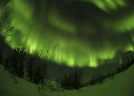 Aurora Borealis-Mile 69-Ingraham Trail