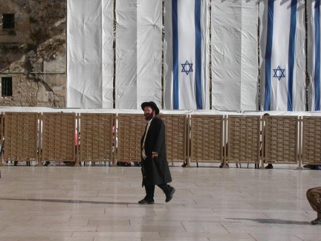 Hasidic at Western Wall