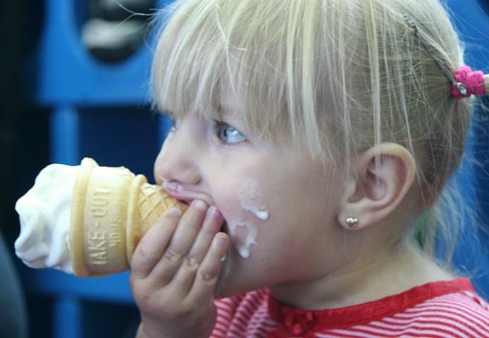 ice cream CONE!
