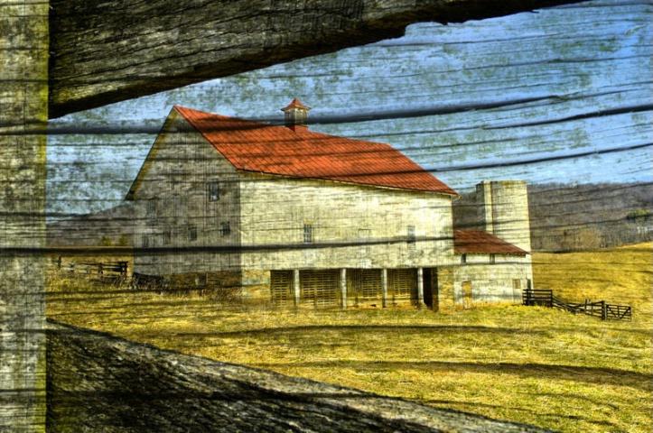 Barn & Wood Montage 2