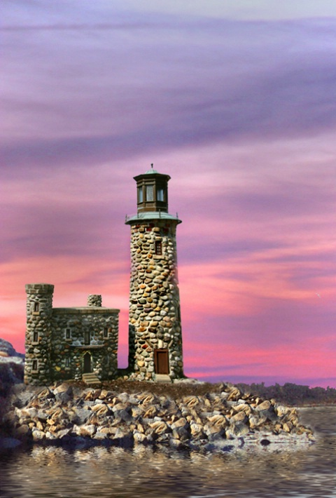 Stone Lighthouse